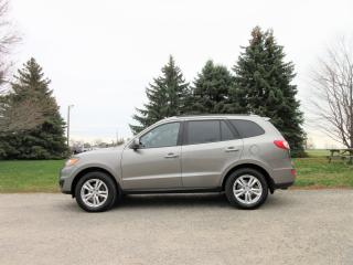 Used 2011 Hyundai Santa Fe Limited AWD for sale in Thornton, ON