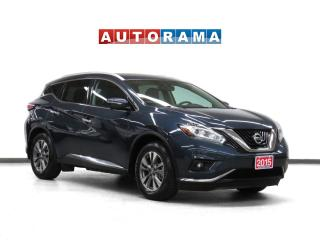 Used 2015 Nissan Murano SL 4WD Nav Leather Pano-Sunroof Backup Cam for sale in Toronto, ON