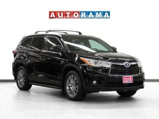Used 2015 Toyota Highlander Hybrid XLE 4WD Nav Leather Pano-SRoof Bcam 8Pass for sale in Toronto, ON
