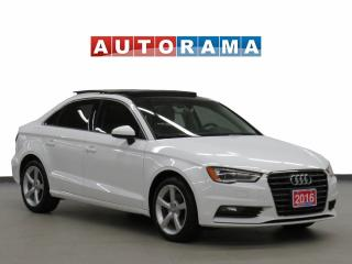Used 2016 Audi A3 Quattro Leather Panoramic Sunroof for sale in Toronto, ON