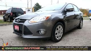 Used 2012 Ford Focus SE|LOW KM|NO ACCIDENT|REMOTE STARTER|CERTIFIED for sale in Oakville, ON