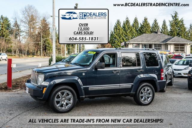 2008 Jeep Liberty Limited 4x4, Leather Heated Seats, No Accidents!