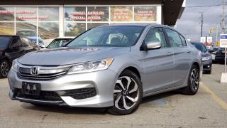 Used 2016 Honda Accord LX| TEXT US|647.678.7778| HEATEDSEATS|BLUETOOTH|REARVIEW|ALLOYS. for sale in Mississauga, ON