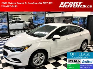 Used 2016 Chevrolet Cruze LT+New Tires+Camera+Apple Play+Remote Start for sale in London, ON