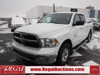 Used 2014 RAM 1500 SLT Crew CAB SWB 4WD 3.6L for sale in Calgary, AB