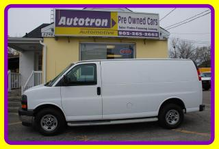 Used 2017 GMC Savana 2500 3/4 Ton Cargo Van, Loaded, Divider for sale in Woodbridge, ON