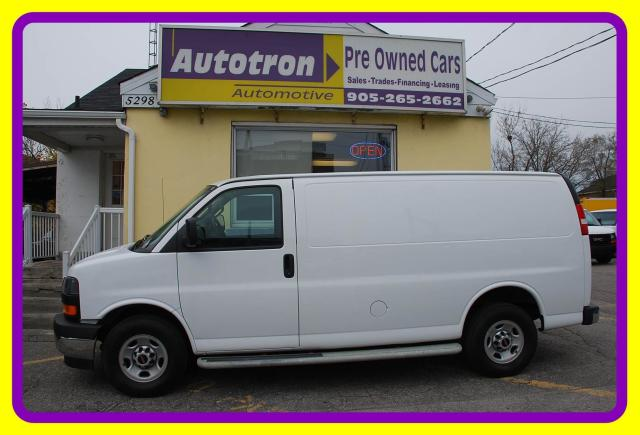 2017 GMC Savana 2500 3/4 Ton Cargo Van, Loaded, Divider