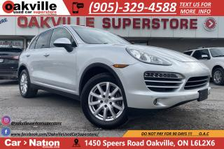 Used 2013 Porsche Cayenne V6 | SUNROOF | HTD VNTD SEATS | NAVI | B/U CAM for sale in Oakville, ON