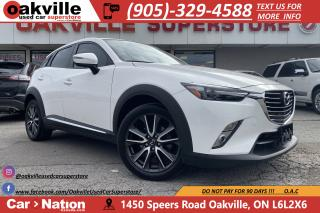 Used 2017 Mazda CX-3 AWD GT | NAVI | B/U CAM | HTD SEATS | HUD | LOADED for sale in Oakville, ON