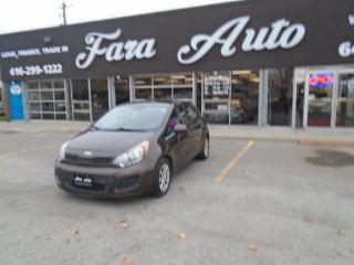 Used 2014 Kia Rio AUTOMATIC & LX for sale in Scarborough, ON