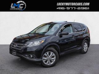 Used 2014 Honda CR-V EX-L 4WD-BACKUP CAMERA-LEATHER-SUNROOF-WE FINANCE for sale in Toronto, ON