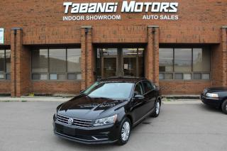 Used 2016 Volkswagen Passat TSI | NO ACCIDENTS I REAR CAM I BIG SCREEN I KEYLESS ENTRY for sale in Mississauga, ON