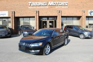 Used 2012 Volkswagen Passat HIGHLINE I NO ACCIDENTS I NAVIGATION I SUNROOF I HEATED SEAT for sale in Mississauga, ON