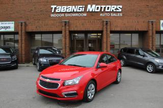 Used 2015 Chevrolet Cruze NO ACCIDENTS I REAR CAM I BIG SCREEN I REMOTE START | BT for sale in Mississauga, ON