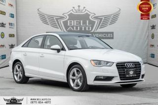 Used 2016 Audi A3 1.8T Komfort, NO ACCIDENT, SUNROOF, HEATED SEATS, LEATHER, SOLD for sale in Toronto, ON
