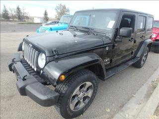 Used 2018 Jeep Wrangler Unlimited Sahara for sale in Edmonton, AB