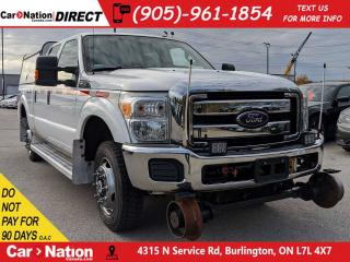 Used 2014 Ford F-350 XLT| 4X4| RAIL TRUCK| ONE PRICE INTEGRITY| for sale in Burlington, ON
