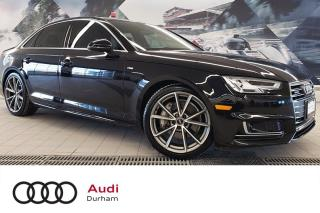 Used 2017 Audi A4 2.0T Technik + 360 Cam | Fully Loaded | S-Line for sale in Whitby, ON
