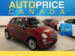 Used 2014 Fiat 500 Lounge PANOROOF|LEATHER for sale in Mississauga, ON