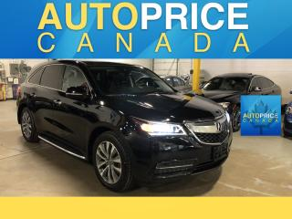 Used 2016 Acura MDX Technology Package TECH PK|NAVIGATION|MOONROOF for sale in Mississauga, ON