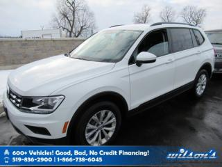 Used 2019 Volkswagen Tiguan Trendline AWD, Heated Seats, Bluetooth, Rear Camera, Alloy Wheels and more! for sale in Guelph, ON
