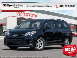 New 2020 Toyota Sienna LE 8-Passenger  - Heated Seats - $246 B/W for sale in Ottawa, ON