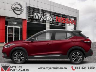New 2019 Nissan Kicks SR FWD  -  Heated Seats -  Fog Lights - $176 B/W for sale in Orleans, ON