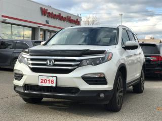 Used 2016 Honda Pilot Touring One owner, Accident Free! for sale in Waterloo, ON