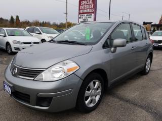Used 2009 Nissan Versa 1.8SL LOW KMS !!  6 SPEED !!  A/C !! for sale in Cambridge, ON