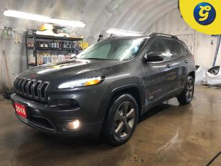 Used 2016 Jeep Cherokee 75TH Anniversary Edition * 4X4 * Power moonroof * Remote start * Power lift gate *  Uconnect 8.4-in Touch/SiriusXM/Hands-free/NAVready * Engine stop/s for sale in Cambridge, ON