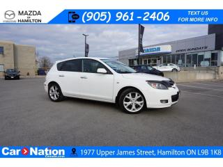 Used 2008 Mazda MAZDA3 GX AS-TRADED | ALLOYS | A/C | CLIMATE CONTROL for sale in Hamilton, ON