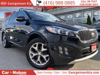 Used 2016 Kia Sorento SX NAVI| LEATHER| PANO ROOF| B/U CAM| AWD| 1 OWNER for sale in Georgetown, ON