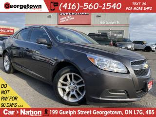Used 2013 Chevrolet Malibu LT ECO 1SE | CLEAN CARFAX | TINTS | ALLOYS |BU CAM for sale in Georgetown, ON