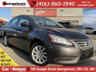 Used 2015 Nissan Sentra S | POWER GRP | ECO DRIVE | BLU TOOTH | CRUISE for sale in Georgetown, ON