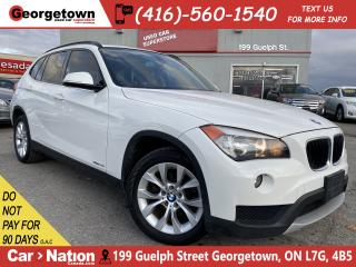 Used 2013 BMW X1 28i XDRIVE | LEATHER | PANO | TINTS | HTD SEATS for sale in Georgetown, ON