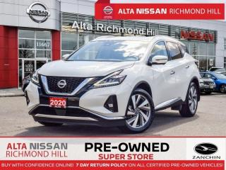 Used 2020 Nissan Murano SL   Bose   Rear Heated   Apple Carply   Leather for sale in Richmond Hill, ON