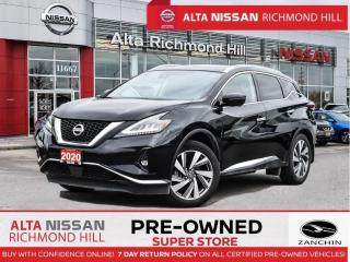Used 2020 Nissan Murano SL AWD Leather   Bose   Rear Heated   Leds   Navi for sale in Richmond Hill, ON