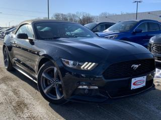 Used 2015 Ford Mustang V6 REVERSE CAMERA, LEATHER, SYNC for sale in Midland, ON