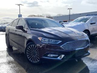 Used 2017 Ford Fusion SE for sale in Midland, ON