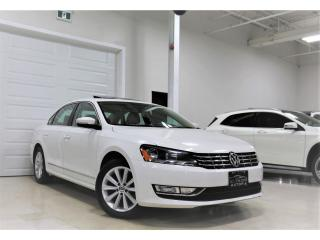 Used 2013 Volkswagen Passat 4dr Sdn 2.0 TDI DSG Highline SUNROOF DIESEL ALLOY for sale in North York, ON