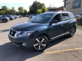 Used 2014 Nissan Pathfinder 4WD 4DR PLATINUM for sale in Kitchener, ON
