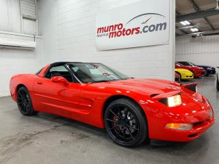 Used 2004 Chevrolet Corvette 2dr Cpe black wheels targa top bluetooth for sale in St. George Brant, ON