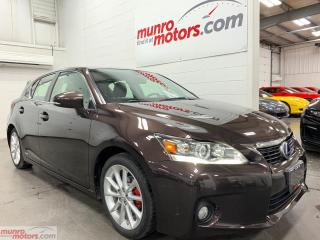 Used 2012 Lexus CT 200h FWD 4dr Hybrid leather dual climate folding mirror for sale in St. George Brant, ON