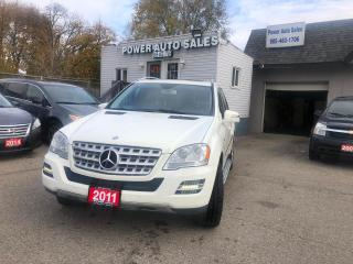 Used 2011 Mercedes-Benz ML-Class 4MATIC 4dr ML 350 BlueTEC for sale in Brampton, ON