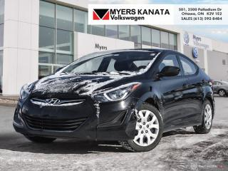 Used 2016 Hyundai Elantra GL  - Heated Seats for sale in Kanata, ON