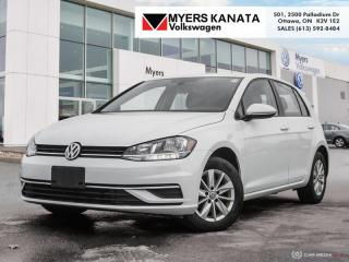 Used 2018 Volkswagen Golf Trendline 5-door  - Certified for sale in Kanata, ON