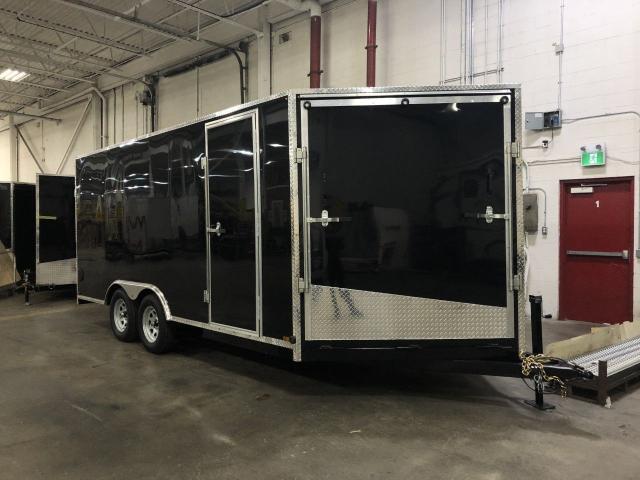 2020 Canadian Trailer Company 8.5X16 V-Nose Cargo Trailer
