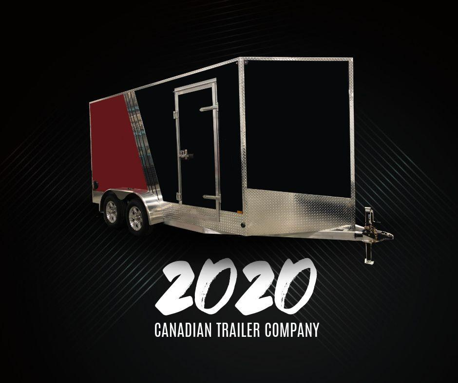 2020 Canadian Trailer Company 8.5X16 V-Nose Cargo Trailer