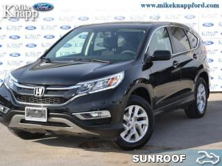 Used 2015 Honda CR-V EX  - Low Mileage for sale in Welland, ON