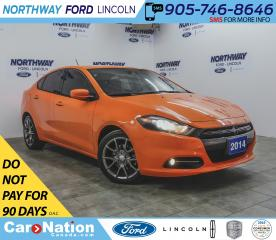 Used 2014 Dodge Dart SXT | KEYLESS ENTRY | RALLYE | FOG LIGHTS | for sale in Brantford, ON